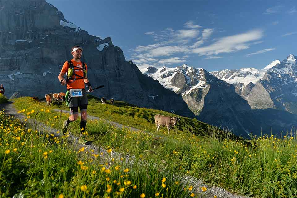 Tractalis at Eiger Ultra Trail 2016
