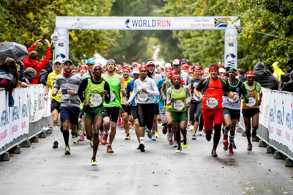 Tractalis at the Wings for Life World Run